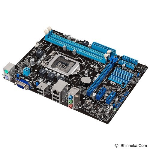 ASUS Motherboard Intel Socket 1155 [H61M-E] (Merchant) - Motherboard Intel Socket Lga1155