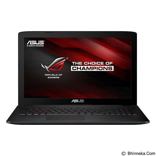 ASUS ROG GL552VX-DM044T - Black (Merchant) - Notebook / Laptop Gaming Intel Core I7
