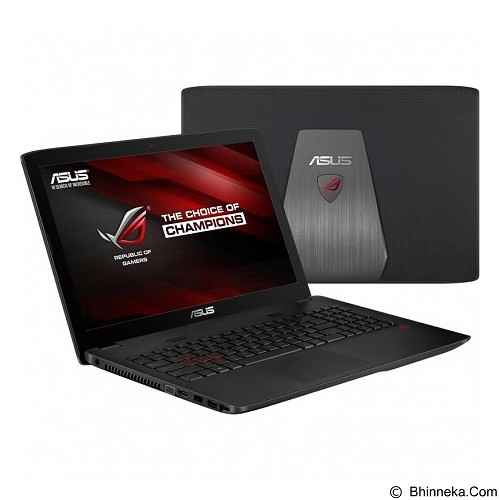 ASUS ROG GL552VX-DM229D Non Windows - Black (Merchant) - Notebook / Laptop Gaming Intel Core I7