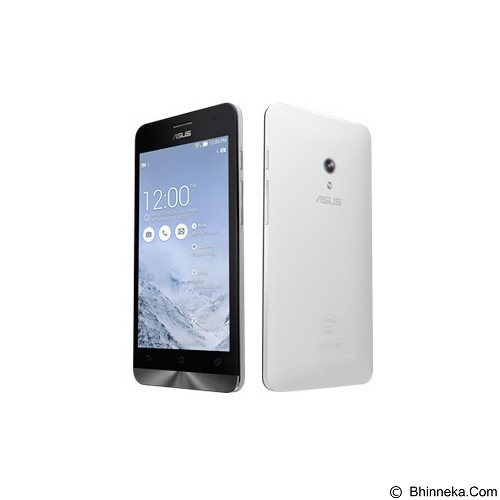 ASUS Zenfone 6 [A600CG] (8GB/2GB RAM) - Pearl White (Merchant) - Smart Phone Android