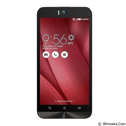 ASUS Zenfone Selfie (32GB/3GB RAM) [ZD551KL] - Red (Merchant) - Smart Phone Android