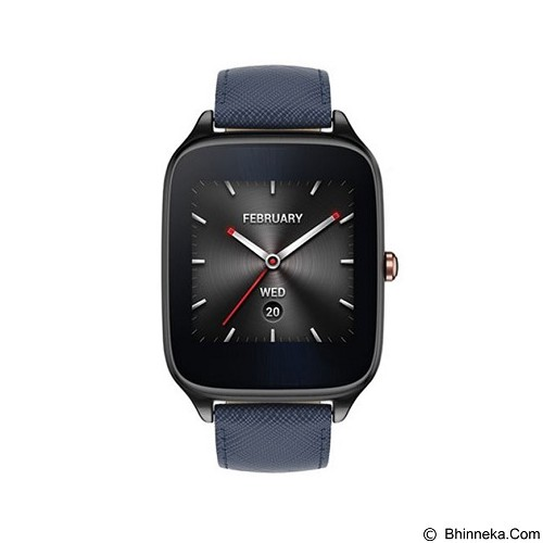 ASUS Zenwatch 2 Sparrow (Leather Strap) [WI501Q] - Navy Blue - Smart Watches