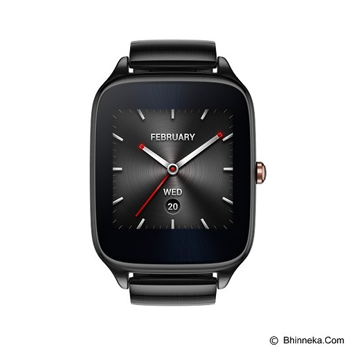 ASUS Zenwatch 2 Sparrow (Metal Strap) [WI501Q] - Gunmetal - Smart Watches