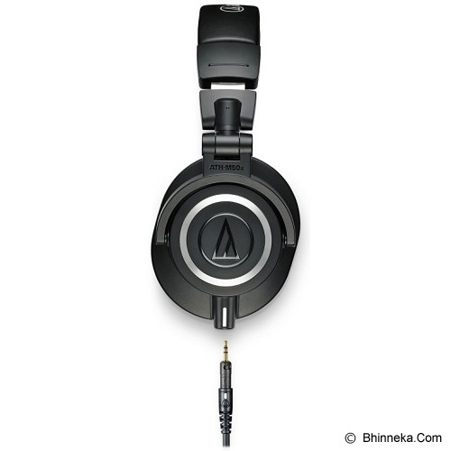 AUDIO-TECHNICA Professional Monitor Headphones [ATH-M50X] - Black - Headphone Portable