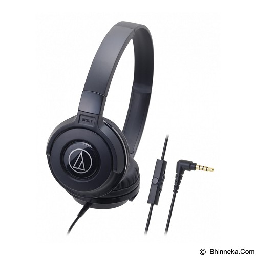 AUDIO-TECHNICA Headphone [ATH-S100iS] - Black - Headphone Portable
