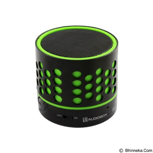 AUDIOBOX Portable Bluetooth Speaker [P1000] - Green - Speaker Bluetooth & Wireless