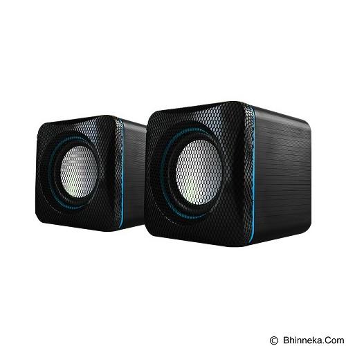 AUDIOBOX U-Cube USB Powered 2.0 Speakers - Black Blue - Speaker Computer Basic 2.0