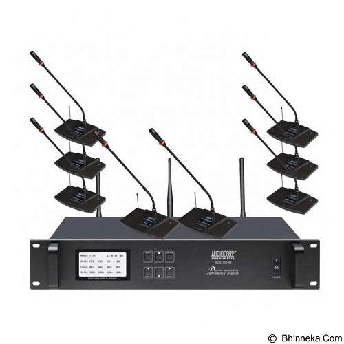 AUDIOCORE Microphone Conference Wireless [WCS-1000 Paket 3] (Merchant) - Microphone Live Vocal