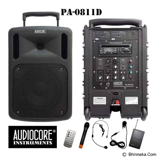 AUDIOCORE Speaker Portable [PA-0811D] (Merchant) - Speaker Portable