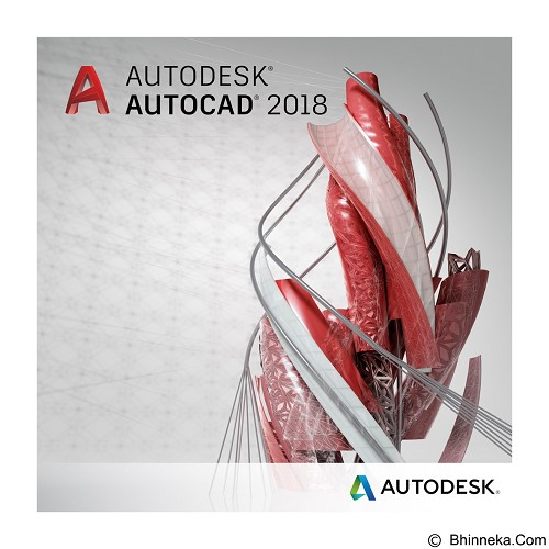 AUTODESK AutoCAD 2018 (3-Years Subscription) - Software Animation / 3d Licensing