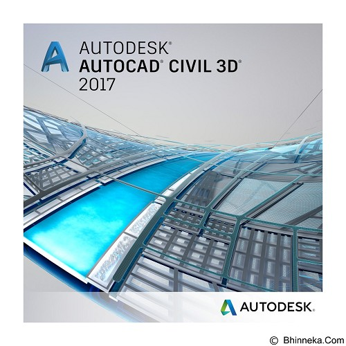 AUTODESK AutoCAD Civil 3D 2017 1-Year Subscription with Advanced Support - Software Animation / 3d Licensing