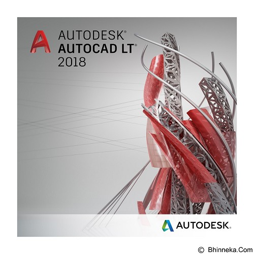 AUTODESK AutoCAD LT 2018 (2-Years Subscription) - Software Animation / 3d Licensing