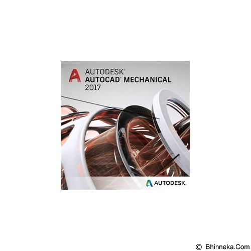 AUTODESK AutoCAD Mechanical 2017 1-Year Subscription with Advanced Support - Software Animation / 3d Licensing