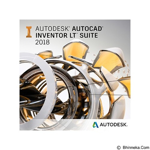 AUTODESK Inventor LT Suite 2018 (2-Years Subscription) - Software Animation / 3d Licensing