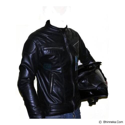 AV46 Jaket Racing Size L [JR] - Black - Jaket Motor