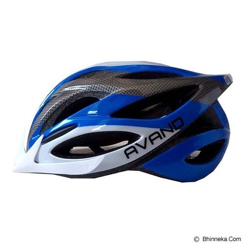 AVAND Helm Sepeda 06 - Blue White - Helm Sepeda