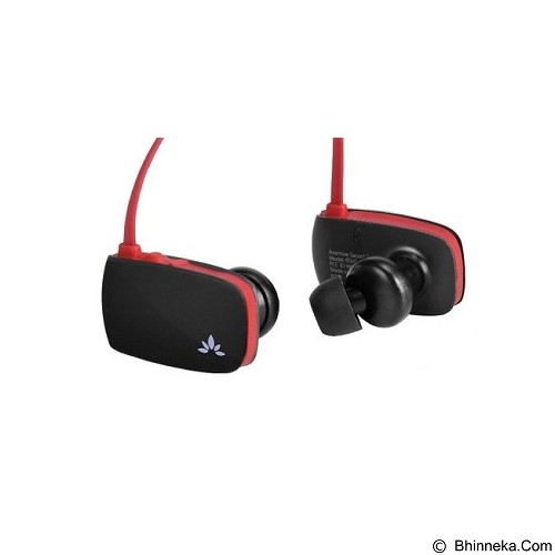 AVANTREE Headset Bluetooth Sacool Pro - Black/Red (Merchant) - Headset Bluetooth
