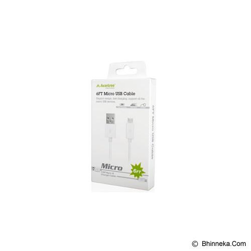 AVANTREE Micro USB Cable Razer - White - Cable / Connector Usb