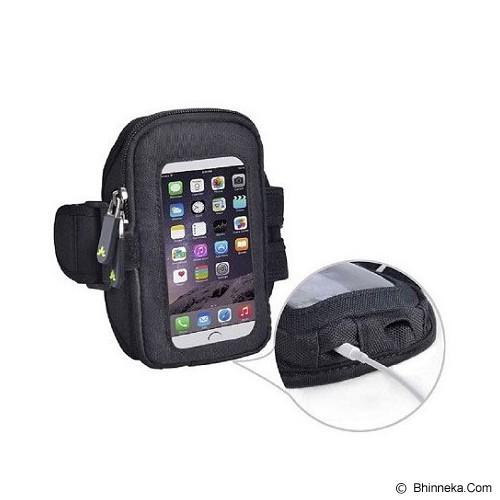 AVANTREE NinjaMultifunction Sports Armband [6642502500] - Black - Arm Band / Wrist Strap Handphone
