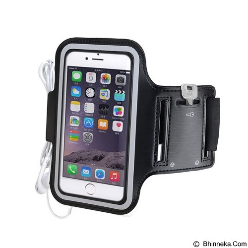 AVANTREE Sport Armband for Apple iPhone 6 Shield [ksam-002] - Black - Arm Band / Wrist Strap Handphone