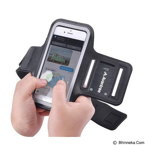 AVANTREE Sport Armband for Apple iPhone 6 Shield [ksam-002] - Black - Arm Band / Wrist Strap Handphone