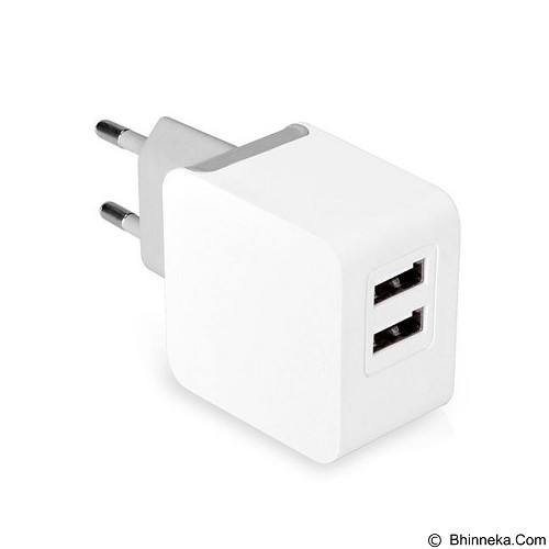 AVANTREE Wall Charger Kit 3.1amp with Micro USB & Lightning Cable MFI CGST-20 [cgst-20-eu-wht] - White - Charger Handphone