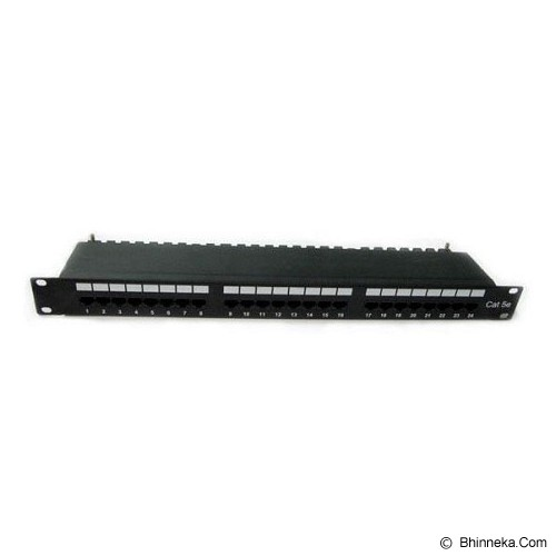 AVP Patch Panel 24 Port [AVP-PL5-24P] - Patch Panel