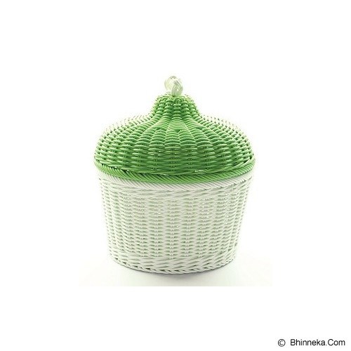 AYUMI KATSUKO Greentea Cupcake Basket - Keranjang