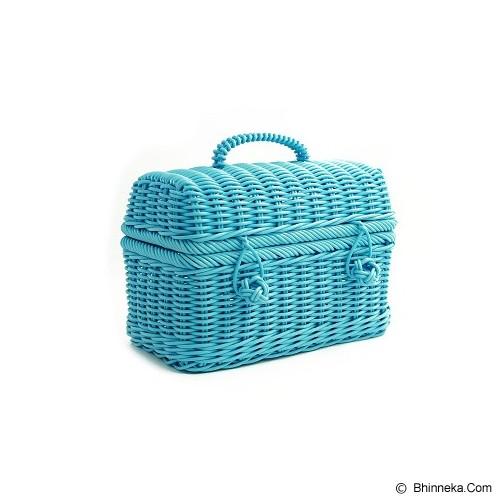 AYUMI KATSUKO Winter Holiday Lunch Box - Blue - Keranjang
