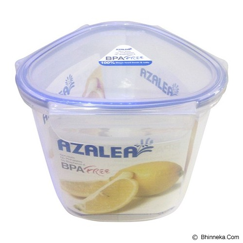 AZALEA Food Container Triangle 1600ml [FTR-22] - Wadah Makanan