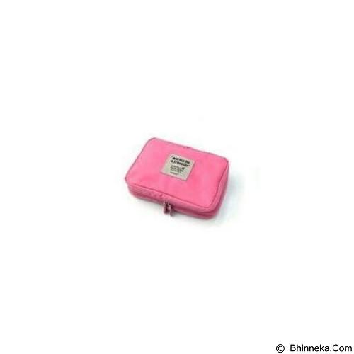 AZISTA SHOP Kosmetik Pouch Organizer - Pink (Merchant) - Tas Kosmetik / Make Up Bag