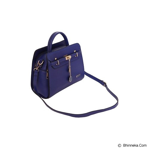 AZURE Synthetic Leather Hand Bag [PCA 2017] - Blue - Tas Tangan Wanita