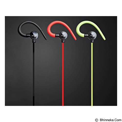 Awei Stereo In Ear Bluetooth V4.0 Earphones [A620BL] - Black (Merchant) - Headset Bluetooth