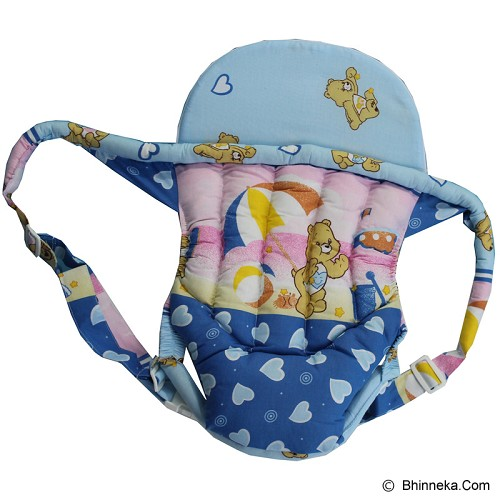 BABY WAREHOUSE Baby Carrier Motif Bear - Blue - Carrier and Sling