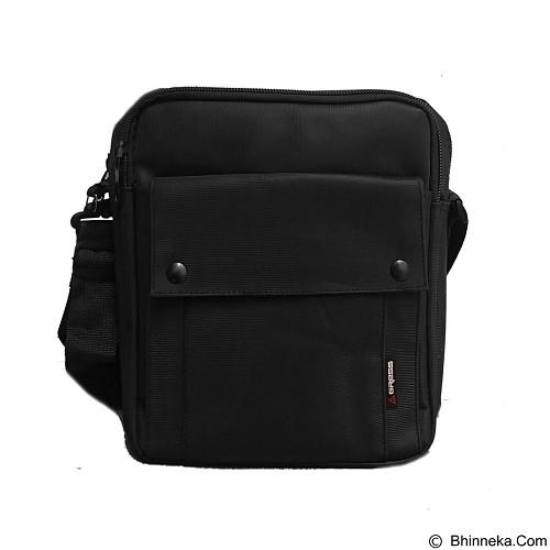 BAG & STUFF Gress Messenger Bag - Black (Merchant) - Shoulder Bag Pria