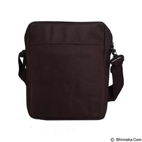 BAG & STUFF Gress Messenger Bag - Brown (Merchant) - Shoulder Bag Pria