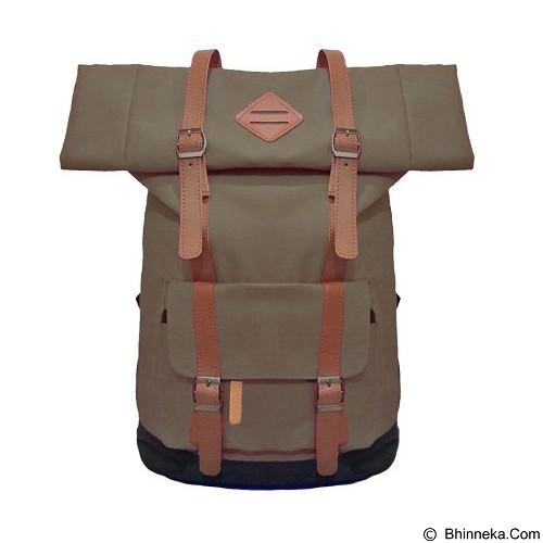 BAG & STUFF Himalayan Grande Ransel Laptop - Coklat (Merchant) - Notebook Backpack