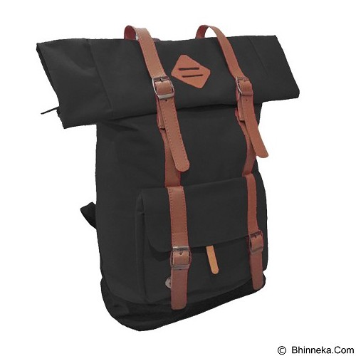 BAG & STUFF Himalayan Grande Ransel Laptop - Hitam (Merchant) - Notebook Backpack
