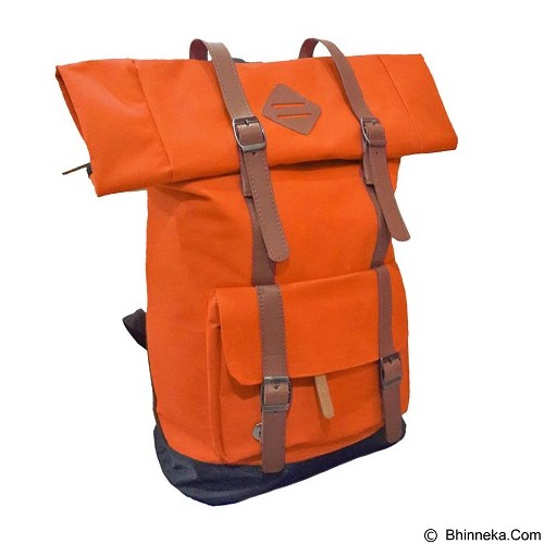 BAG & STUFF Himalayan Grande Ransel Laptop - Oranye (Merchant) - Notebook Backpack