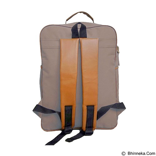 BAG & STUFF J-Sport Korea Backpack - Mocca (Merchant) - Backpack Pria
