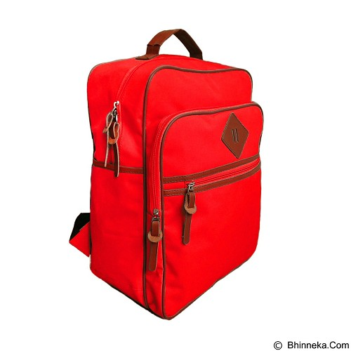 BAG & STUFF J-Sport Korea Backpack - Red (Merchant) - Backpack Pria