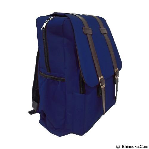 BAG & STUFF Korea M2M Backpack - Navy (Merchant) - Backpack Pria