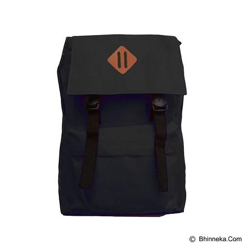 BAG & STUFF Korean Compact Backpack - Black (Merchant) - Backpack Pria