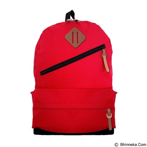 BAG & STUFF Rookie Tas Ransel Kasual - Red (Merchant) - Backpack Pria