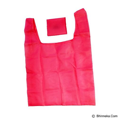 BAGGU Kantong Belanja Lipat - Dark Pink (Merchant) - Waterproof Bag