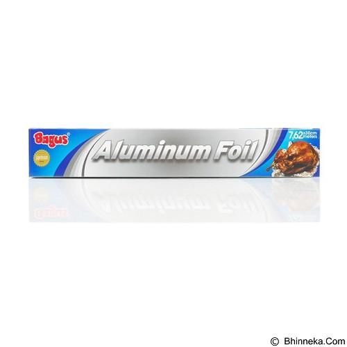 BAGUS Aluminum Foil Box (30 cm x 7.62 m) - Perangkat Plastik & Kertas