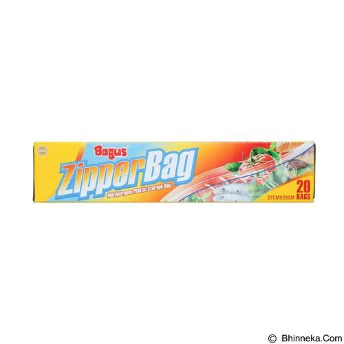 BAGUS Eazy Zipper 15's - Perangkat Plastik & Kertas