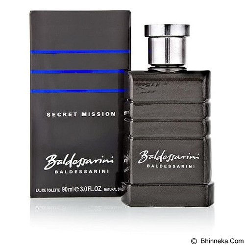 BALDESSARINI Secret Mission For Men EDT 90 ml (Merchant) - Eau De Toilette untuk Pria