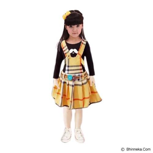 BANANANA Overall Skirt Anak Lemontache 728 Size 3 [728-KNG3] - Yellow - Dress Bepergian/Pesta Bayi dan Anak