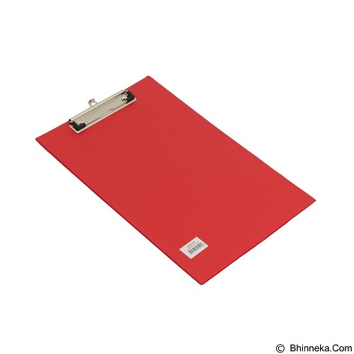 BANTEX Clipboard Folio [4205 09] - Red (Merchant) - Papan Ujian / Clipboard